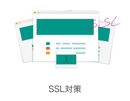 常時SSLは必須条件に!URLがhttpから始まるWebページは通信が暗号化されておらず、第三者によってブラウザーとサーバー間の通信データを盗聴・改ざんされてしまうリスクがあります。SSL/TLSという技術を用いてHTTPS化(通信の暗号化)をすることで、Webサイト訪問者が安心してWebサイトを利用することができるようになります。